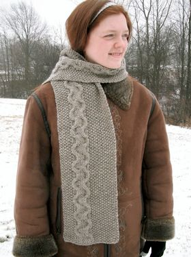 Sand and Pebbles Scarf