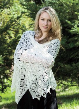 Quarefoil Lace Scarf Pattern