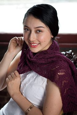 Anderlin Reversible Scarf Pattern