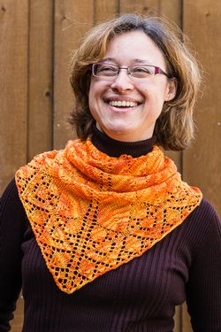 Flame Keeper Shawl Pattern