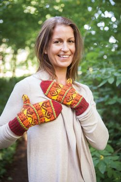 Inca Cat Mittens Pattern