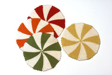 Shaker Dishcloths & Coasters Pattern