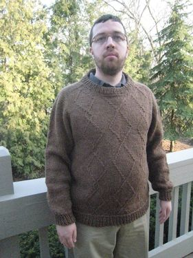 Diamond Jim Sweater Pattern