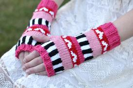 All My Love Fingerless Gloves