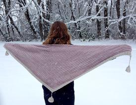 Eloise's Winter Shawl