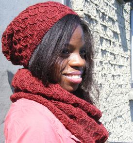 Metro Tuque and Cowl Set