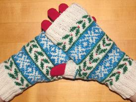 Deck the Halls 2014: The Fingerless Mitts