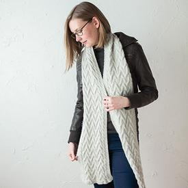 Snow Drift Scarf