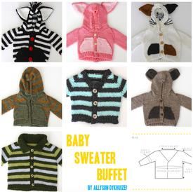 Baby Sweater Buffet