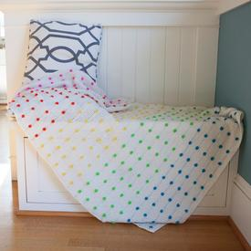 Candy Dots Baby Blanket