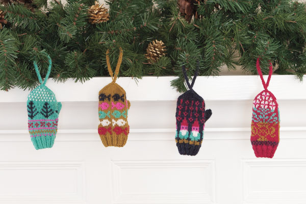 Mini-Mitts Ornaments