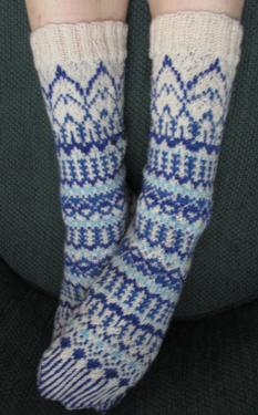 Blue Ice Socks