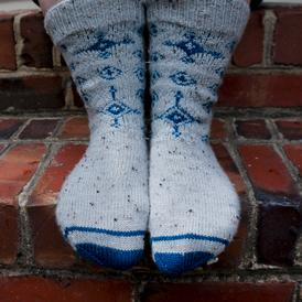 Winter Eyes Socks