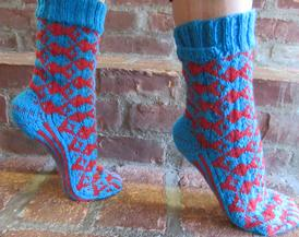 One Fish, Two Fish, Tessellated Socks