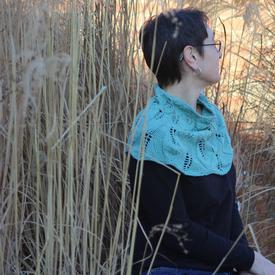 Meandering Leaves Cowl