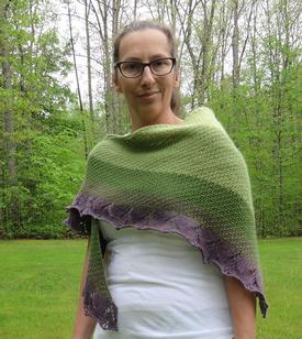 Shades of the Half Blood Prince Shawl