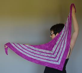 Speckled Shawl