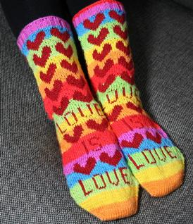 Love is Love Socks