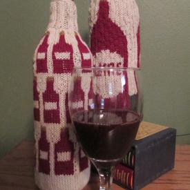 Cheers! Wine Bottle Sweaters