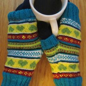 In Loving Color Mitts