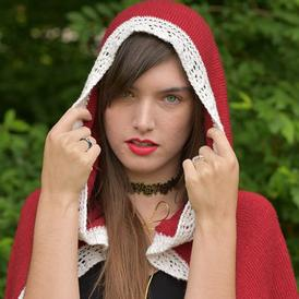 Enchanted Rose Hood