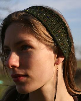 Woodland Paths Beaded Headband