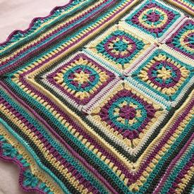 Petals and Ridges Blanket
