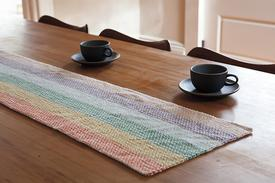 Linen Dream Rug and Table Runner
