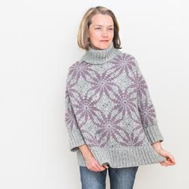 Morning Star Poncho Sweater