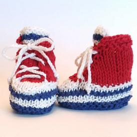 Baby High-Top Sneaker Booties
