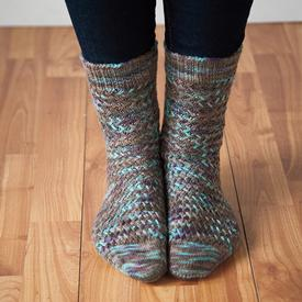 Basketwork Socks