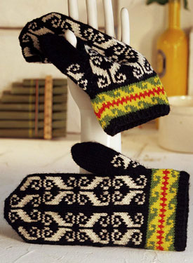 Mittens from Ivo Pattern