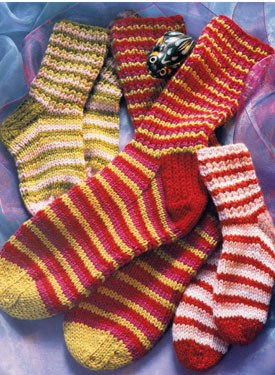 Stripy Socks Pattern
