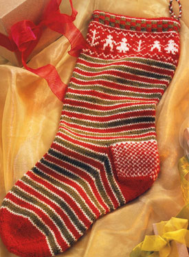 Holiday Stocking Pattern