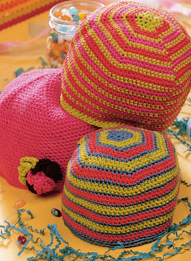 Crocheted Classic Hat Pattern
