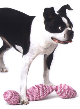 Sweet Potato Chain Dog Toy Pattern