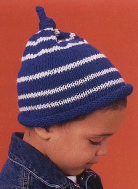 Striped Stocking Cap Pattern