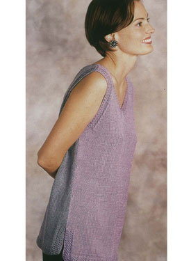 V-Neck Bicolor Tunic Pattern