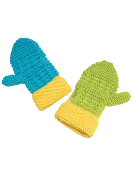 Rib-It Mittens Pattern