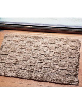 Hemp Doormat Pattern