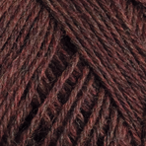 Merlot Heather in Stroll Sock Yarn