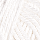 White in Shine Worsted Yarn