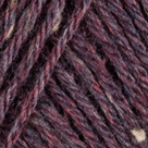 Claret Heather in Wool of the Andes Tweed Yarn