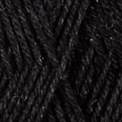 Black in Stroll Glimmer Yarn