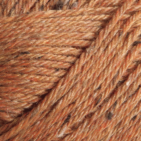 Persimmon Heather in Wool of the Andes Tweed Yarn