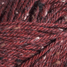Garnet Heather in Wool of the Andes Tweed Yarn