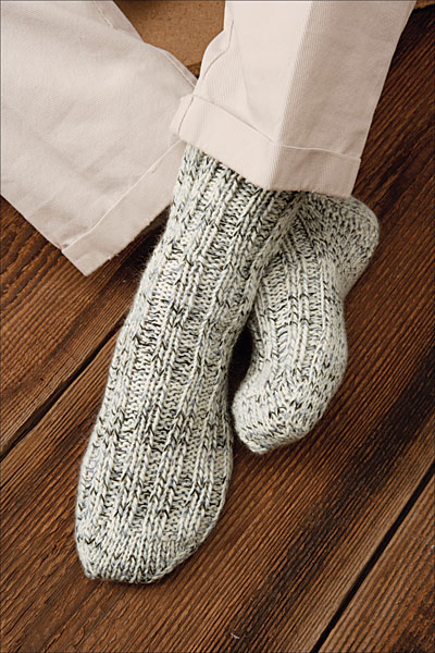 Woodsman's Thick Socks Pattern