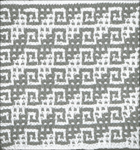 Mosaic Knitting : Mosaic knitting from knitpicks by barbara walker