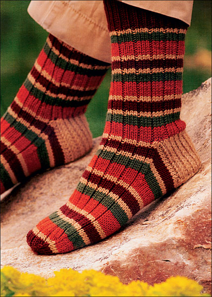 2-at-a-time Socks from KnitPicks.com Knitting by Melissa Morgan-Oakes - knit ...