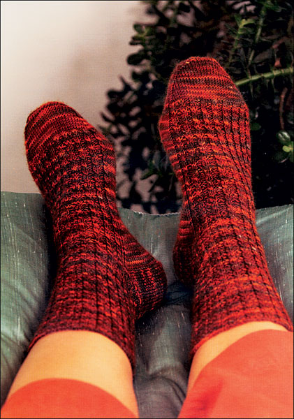 Pattern For Knitting Two Socks At A Time : 2-at-a-time Socks from KnitPicks.com Knitting by Melissa Morgan-Oakes - knit ...